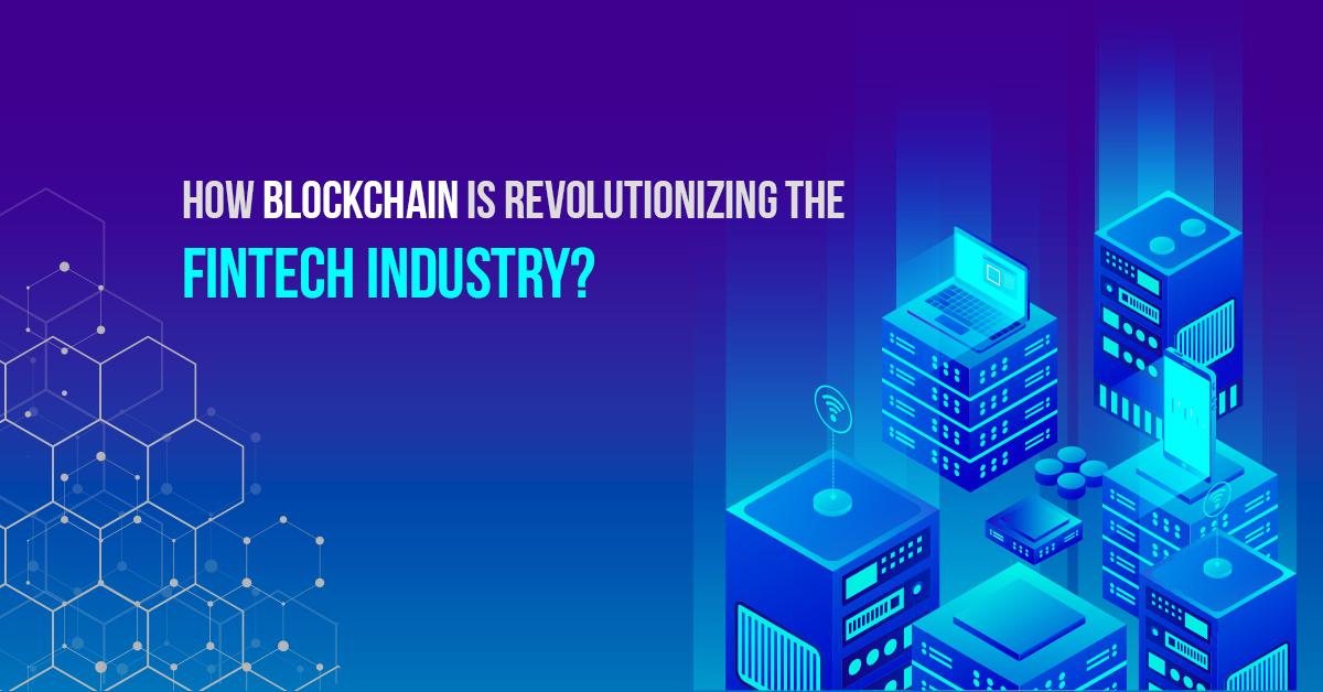 Blockchain in fintech industry