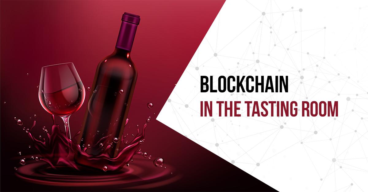 Blockchain in wine industry
