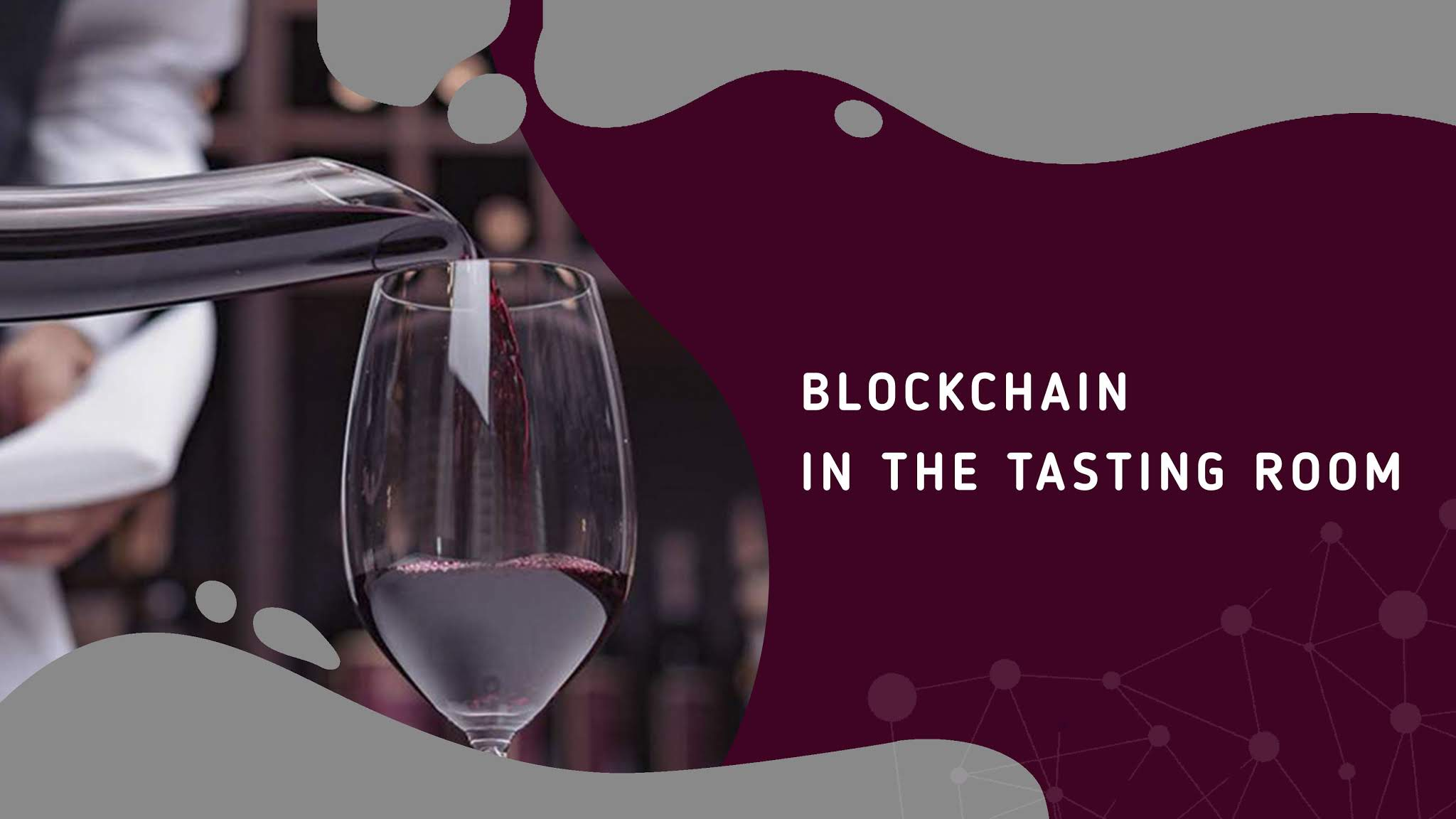 blockchain in tastingroom
